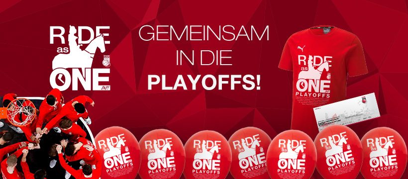Playoff-Banner 2021 - Ride as One